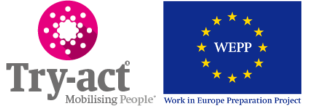 Work in Europe Preperation Project Logo